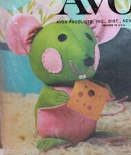 Avon House Mouse Doll Making Creative Needlecraft Kit 1973