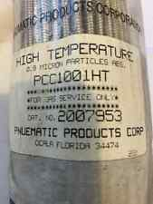 New ListingPneumatic Products Gas Service Filter Pcc1001Ht Spxflow 2007953 Ht 0.9 Micron