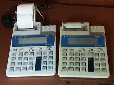 Texas Instruments Ti-5032 Super View Adding Machine Desktop Printing Calculators