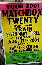 Matchbox Twenty Block Print Concert Poster TWEETER CENTER