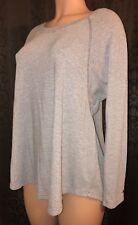 Tommy Hilfigher Sport Women's Beige luxurious Soft Long Sleeve Loose Fit sz S