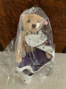 """Steiff """"Queen Elizabeth II Coronation Teddy Bear"""" Danbury Mint Limited Edition"""