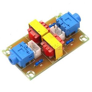 Stereo Audio Isolator Common Ground Suppression Module Transformer Coupler