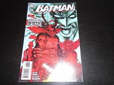 BATMAN #708    DC Comics   2011   NM