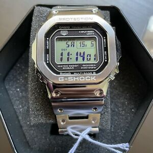 Orologio Casio G-SHOCK GMW-B5000D-1ER - Cassa e Bracciale in Acciaio -Bluetooth