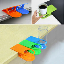 Drink Coffee Water Cup Holder Mug Rack Cradle Stand Clip Desk Table Office Yunos