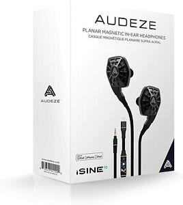 "AUDEZE iSINE 10 In-Ear Headphones with Standard 1/8"" Audio Cable, B Stock"