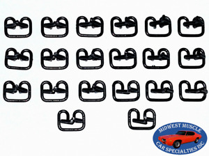 Ford Lincoln Mercury Body Fender Door Side Trim Moulding Molding Clips 20pcs Z
