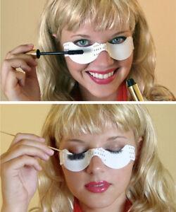 VIDEO. 24ct Non-Sticky EyeShadow Shield No-Mess Mascara Eyelash Guard Eye Makeup