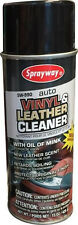 Sprayway VINYL & LEATHER CLEANER with Oil of Mink Cleans Grime 15 oz SW990