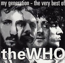 THE WHO : MY GENERATION - THE VERY BEST OF THE WHO / CD