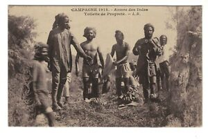 AL1192 - WW1 - INDIAN ARMY SIKH SOLDIERS WASHING TIME