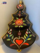 Christopher Radko Ornament Troika Treasures 1014304, 6 tall 2008