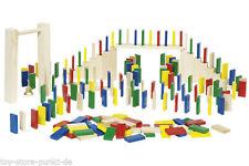 Gesellschaftsspiele aus Holz mit Architektur-Thema