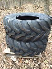 2 NEW Solideal Backhoe Tires SLA R4 - 19.5LX24 - 19.5L-24 - 19.5X24 - 19.5-24