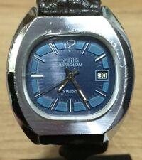 "GENTS ""smiths Astrolon"" Rare 1970s Mechanical Swiss Hand Winding Watch"