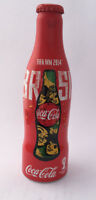 Coca Cola Flasche Bottle Botella Alu WM Fifa 2014 Fußball  Brasilien world cup