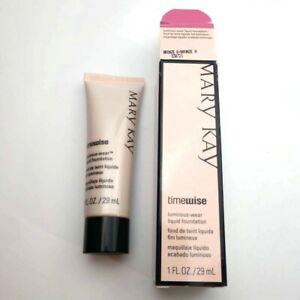 Mary Kay TimeWise Luminous-Wear 1oz Liquid Foundation Bronze 8 New in Box 038721