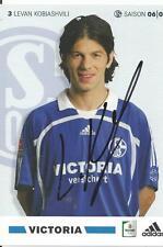 Levan Kobiashvili - Schalke 04 - Saison 2006/2007 - Autogrammkarte