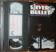 SILVER BULLET (vhs) Stephen King Horror. Rare. VG Cond. Gary Busey, Corey Haim