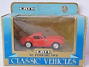 Ertl Classic Vehicles 1961 Ferrari SWB