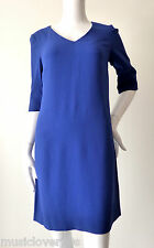 Sportscraft Signature  Blue Shift Dress Size 6 - 8 US 2 - 4  rrp $299.00