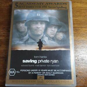 Saving Private Ryan DVD R4 LIKE NEW FREE POST