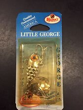 Mann's Little George 1/2 Oz Hammered Chrome HC2