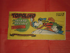 ALBI TASCABILI di TOPOLINO-STRISCIA N° 151-b-prima 1° SERIE originale del 1951
