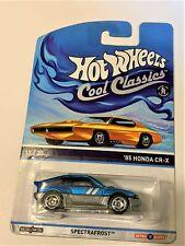 HOT WHEELS 85 Honda CR-X Cool Classics blue 11/30