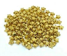 Gold Star Spacer Beads 6mm x50 Bulk Small Plated For Jewellery Making Bracelets