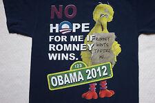 Big Bird Obama Hope T Shirt Sesame Street Liberal Election Democrat Hipster USA