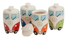 Giftworks Campervan Surf Storage Jar Kitchen Gift Ceramic