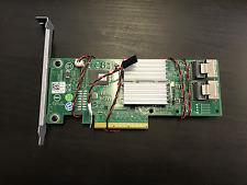 DELL HV52W 0HV52W  H310 Perc Adapter 8-Port 6Gb/s SAS RAID w/ CABLES