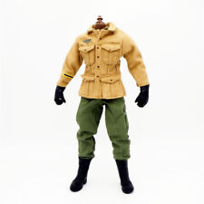 1/6 Scale Uniforms Coveralls Suit Airborne  Jacket Set WWII B005 Action Figure