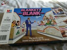 Blankety Blank  Board Game TV Show with Rules Complete.