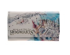 Harry Potter Hogwarts Watercolor Wallet Student Purse