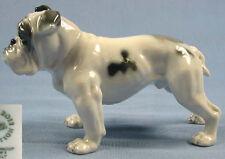 englische Bulldogge hundefigur  Porzellanfigur rosenthal figur dogge 1975
