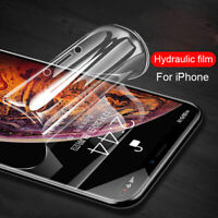 Hydrogel Screen Protector Glass Film Clear Sticker For iPhone 12 mini 11 Pro Max