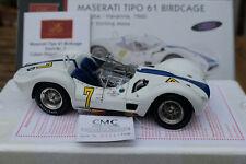 1:18 CMC M-125 Maserati TIPO 61 Birdcage GP Cuba Havanna 1960 Stirling Moss, OVP