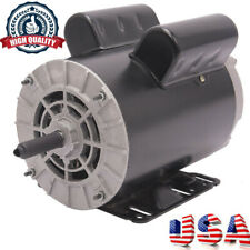 "5/8"" Shaft 3450 Rpm Air Compresso 5 Hp Spl 60 Hz Electric Motor 208-230 Volts"