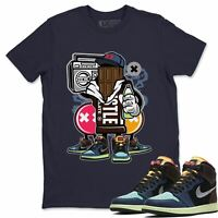 Air Jordan 1 Bio Hack Sneaker Matching Tees and Outfit Chocolate Squad T Shirt