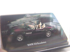 BMW Z8 Roadster in schwarz  - Schuco Modell 1:72  - #818  #E - gebr.