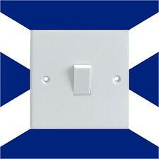 Scottish Bandera Nacional Eléctrica Interruptor De Luz envolvente Impreso pegatina de vinilo