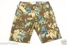$70 Mens RALPH LAUREN Denim & Supply French Flower Slim Shorts 34 WAIST Brown br