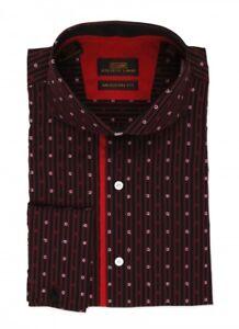 Steven Land Mens Dress Shirt 100% Cotton Style DA509 Red