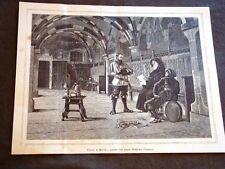 Clero e Milizia Quadro di Federico Pastoris del 1880