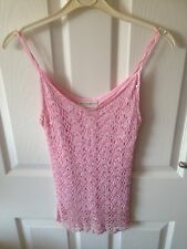 Pink Sequined Top Size 12