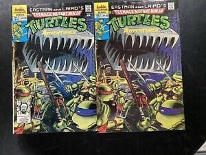 Teenage Mutant Ninja Turtles Adventures 2 1989 LOT OF 2 Archie Comics Variant
