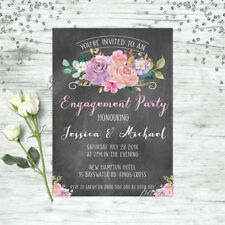 ENGAGEMENT INVITATION BOHO FLORAL WEDDING INVITE ENGAGEMENT PARTY INVITATIONS